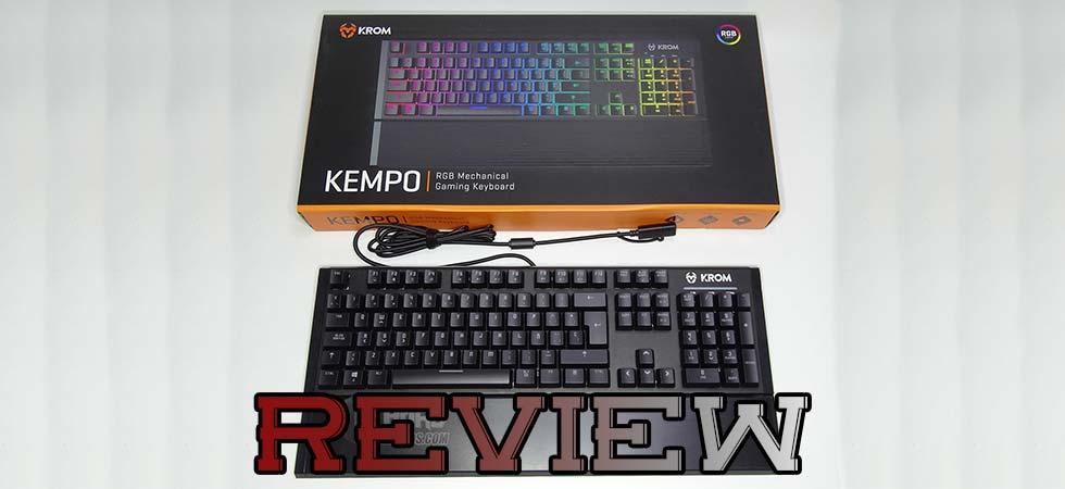 teclado krom kempo, portada
