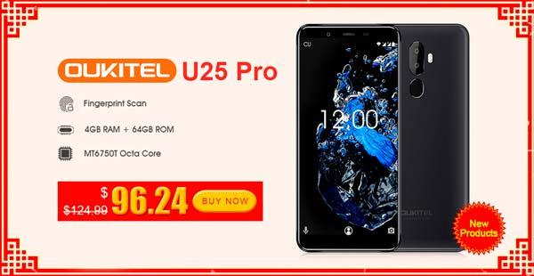 promosion oukitel u25 pro
