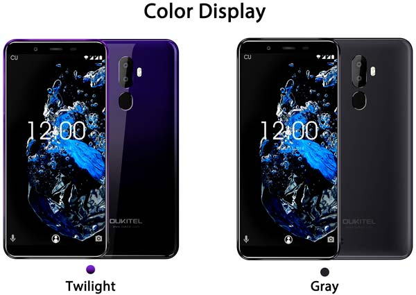 oukitel u25 pro, color pantalla