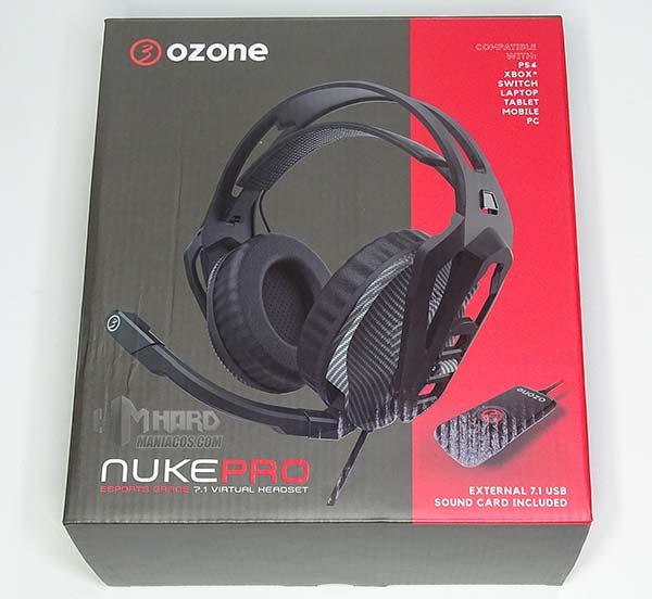 Ozone Nuke Pro caja