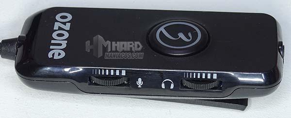 frontal controladora Ozone Nuke Pro