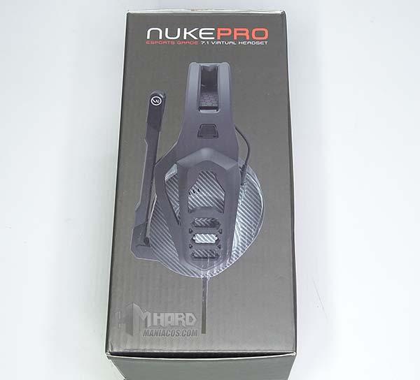 Ozone Nuke Pro lado caja foto