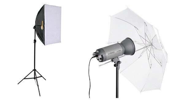 focos iluminacion para video