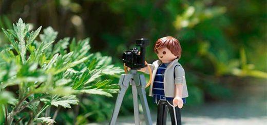 equipo para grabar video portada