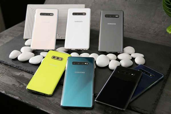 colores versiones Samsung Galaxy S10