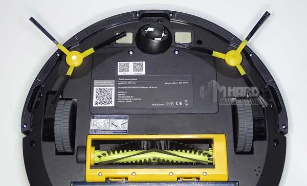 aspirador Ikohs Netbot S14 con cepillos laterales puestos