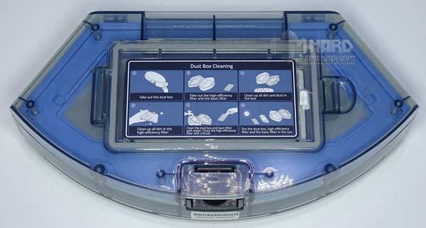 Depósito sólidos aspirador Netbot S14