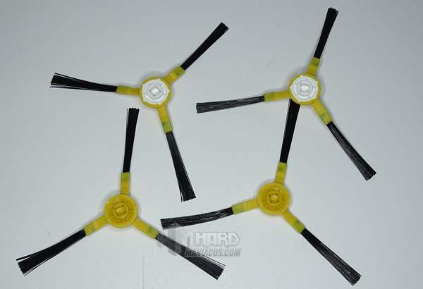 cepillos laterales robot aspirador Netbot S14