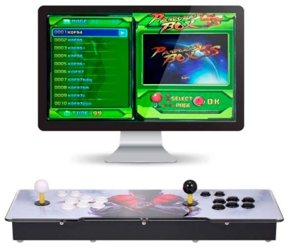 Mesa arcade pandora 5S, juegos