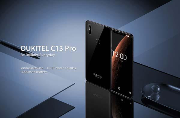 oukitel c13 pro con android 9 pie
