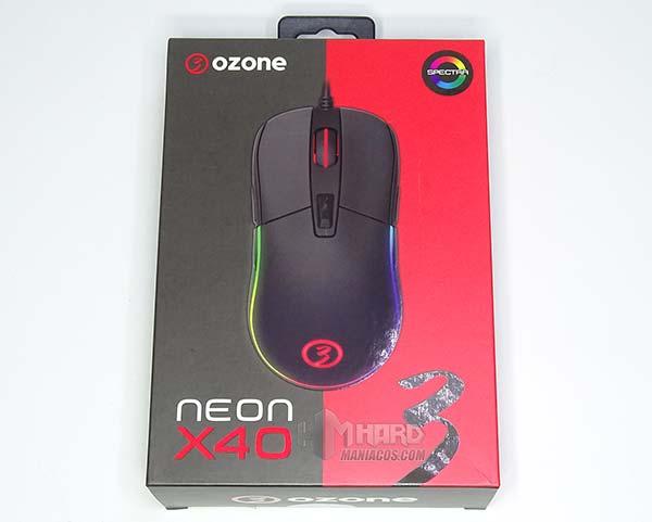 Ozone Neon X40 caja