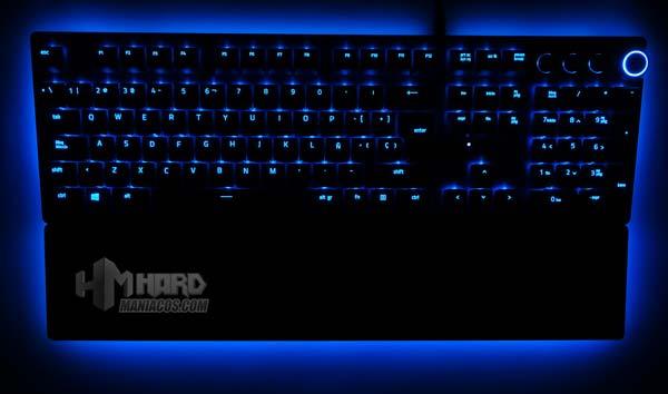 iluminacion Razer Chroma teclado Razer Huntsman Elite