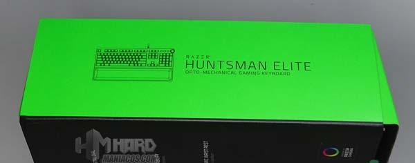 Razer Huntsman Elite lateral caja