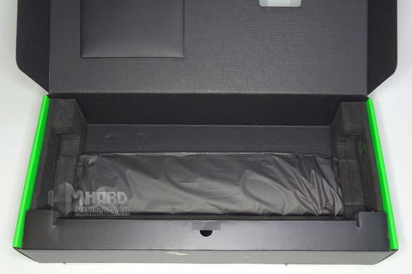 reposamuñecas Razer Huntsman Elite en caja