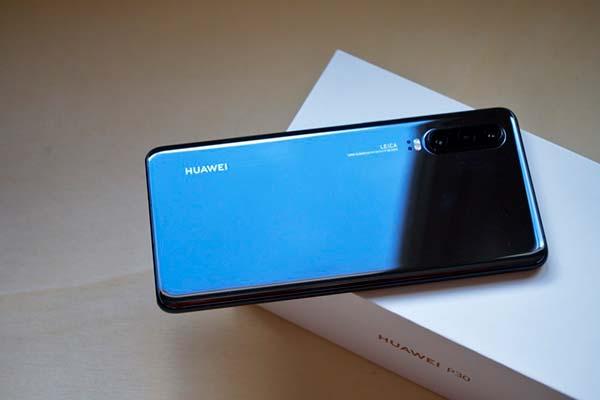 Huawei P30 diseño