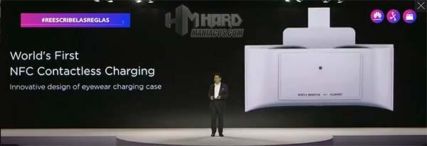 funda cargador gafas inteligentes Huawei