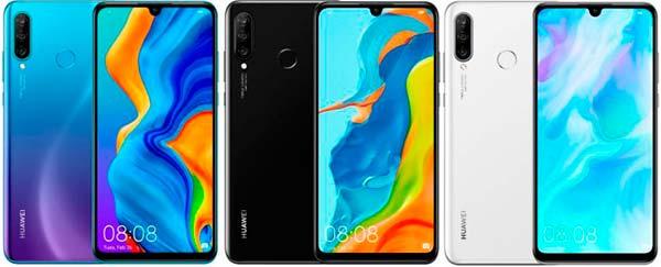 colores Huawei P30 Lite
