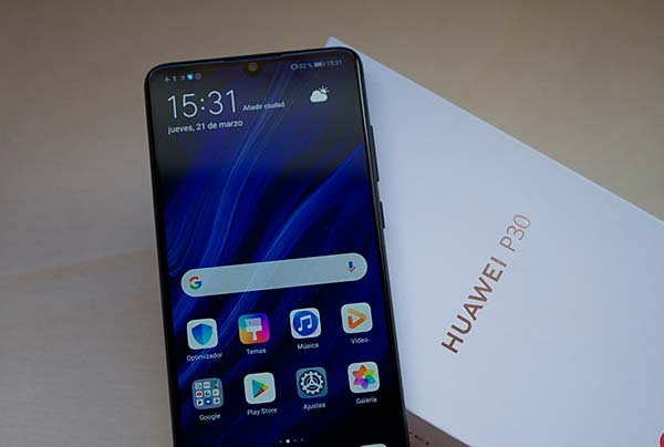 Android 9 Huawei P30
