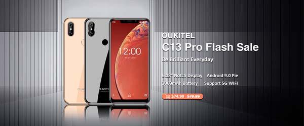 oukitel c13 pro, portada