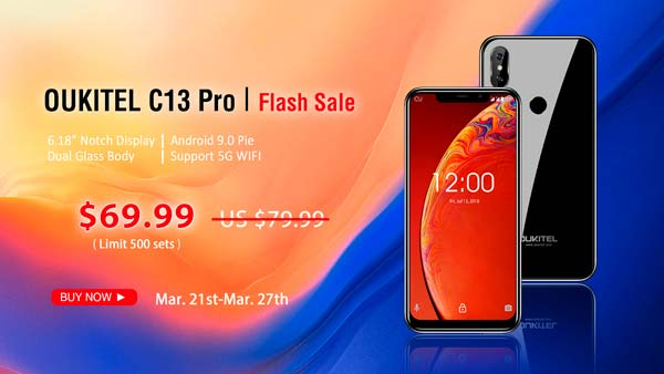 oukitel c13 pro en venta flash