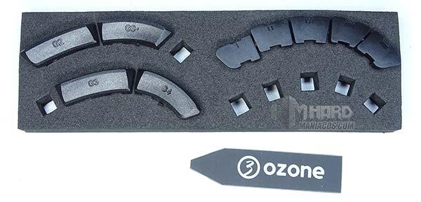 ozone exon x90 todos los botones