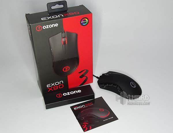 ozone exon x90 con accesorios