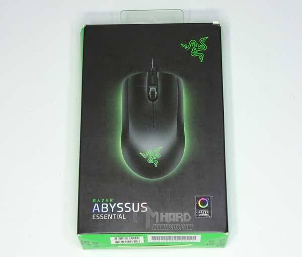 Razer Abyssus Essential caja frontal