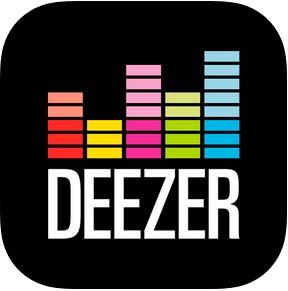 aplicacion deezer para descargar música en iPhone