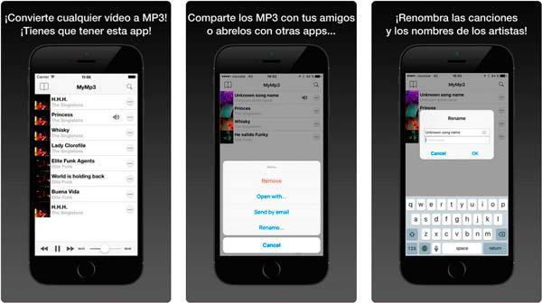 aplicacion mymp3
