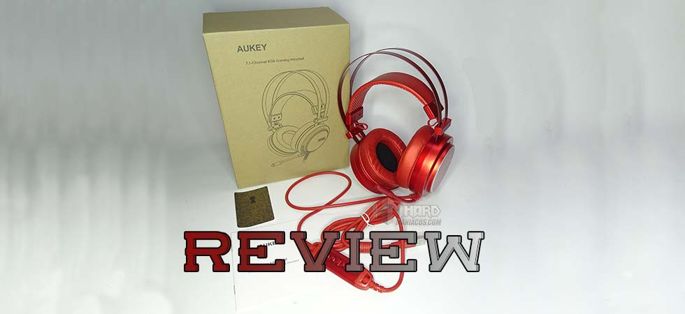 auriculares gaming aukey GH-S5