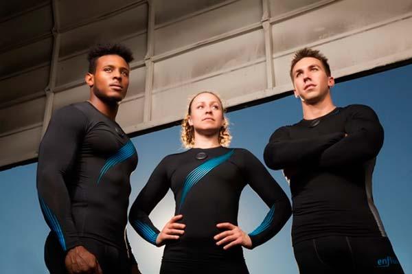 ropa deportiva inteligente Enflux