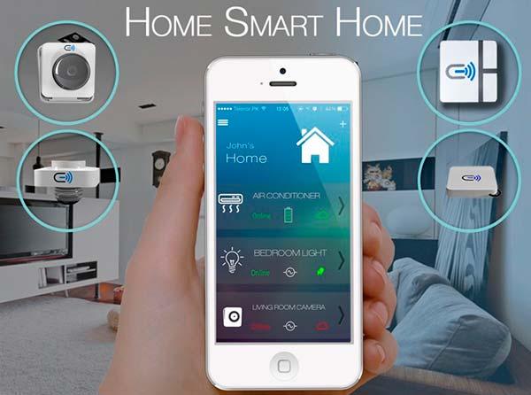 samsung casa inteligente Smart Control Home Samsung