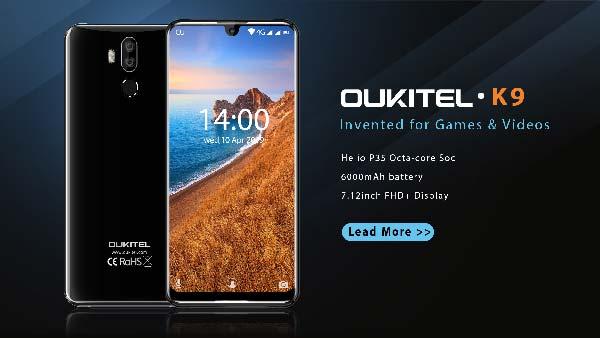 oukitel k9, gran pantalla