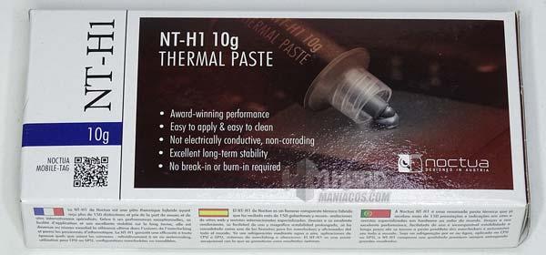 Noctua NT-H1 10g caja frontal