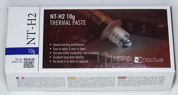 Noctua NT H2 10g caja frontal