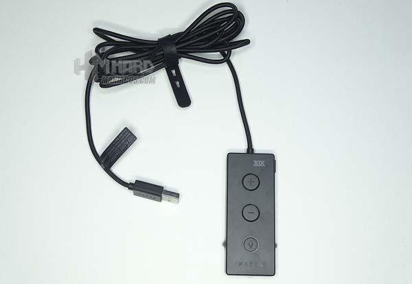 controladora y cable USB razer kraken tournament edition
