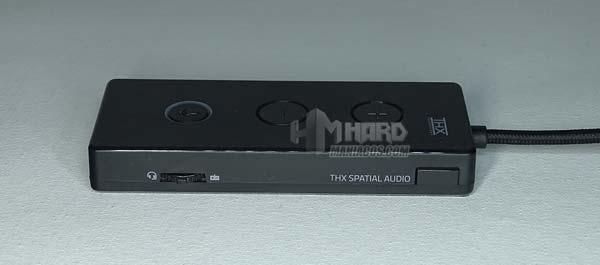 lateral controladora USB razer kraken tournament edition