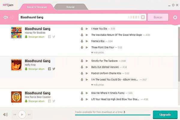 MP3 Jam descargar musica mp3 gratis y facil
