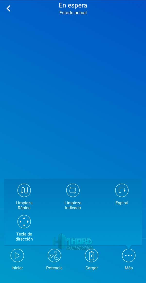modos limpieza app Netbot S15