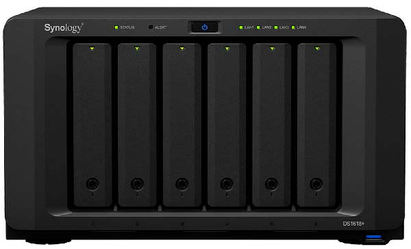nas synology ds1618