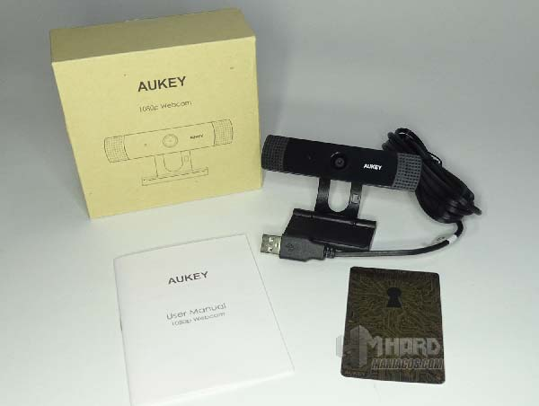 aukey webcam software unboxing pc-lm1