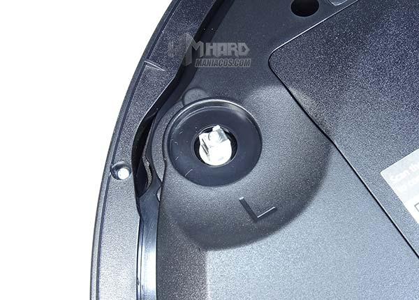 conector izquierdo cepillo lateral Netbot S15