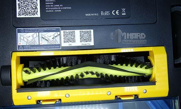 cepillo central aspirador Netbot S15