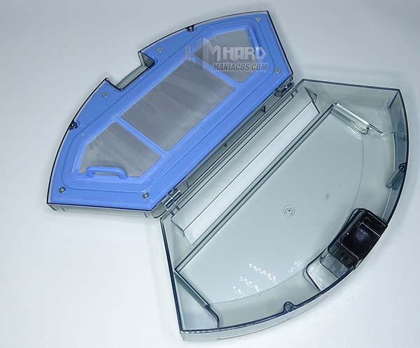 deposito residuos abierto Netbot S15