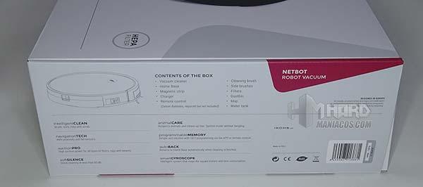 lateral caja aspirador Ikohs Netbot