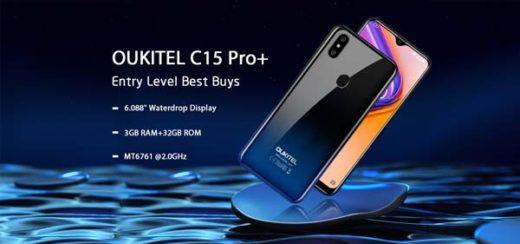 oukitel c15 pro +
