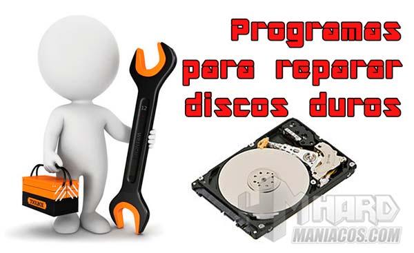 programas para reparar disco duro