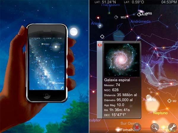 app ver las estrellas