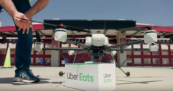 Uber repartirá comida mediante drones este verano con Uber Elevate