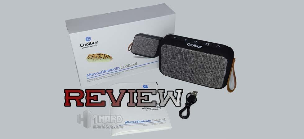 altavoz Bluetooth portatil CoolBox